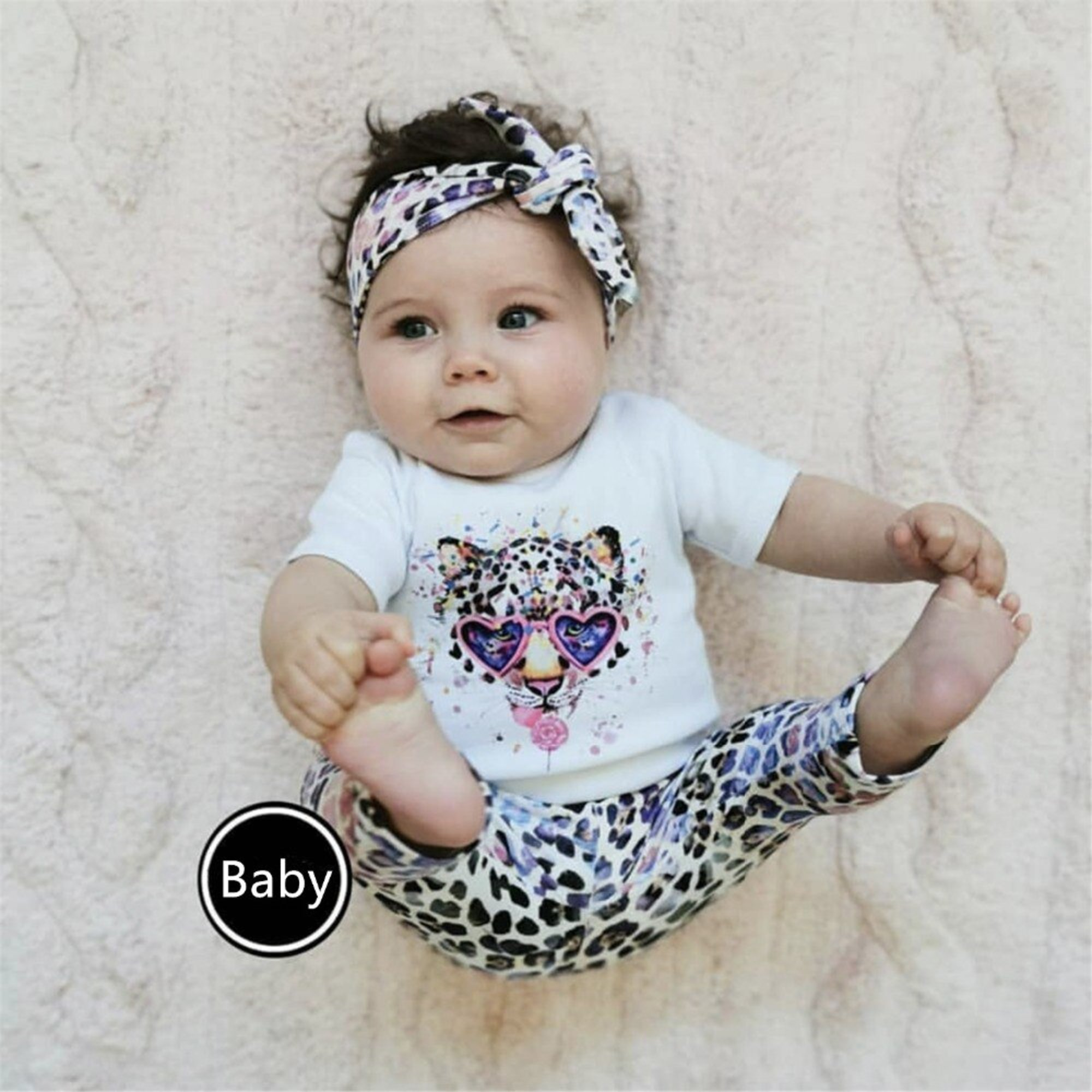 Baby-Outfit 3-teilig | Little Miss Fashion