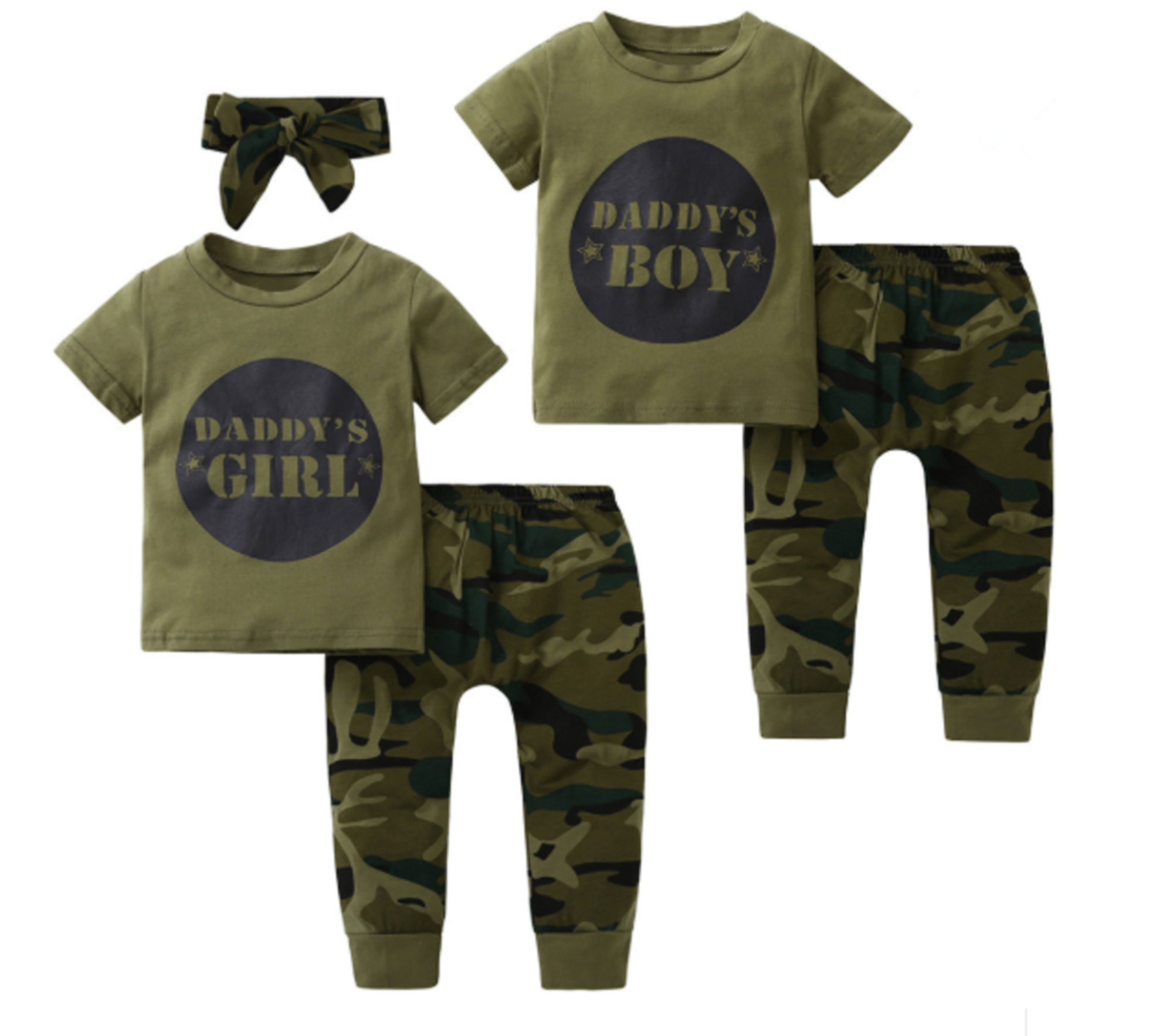 Baby-Outfit 2-teilig | Daddy\'s Boy & Girl