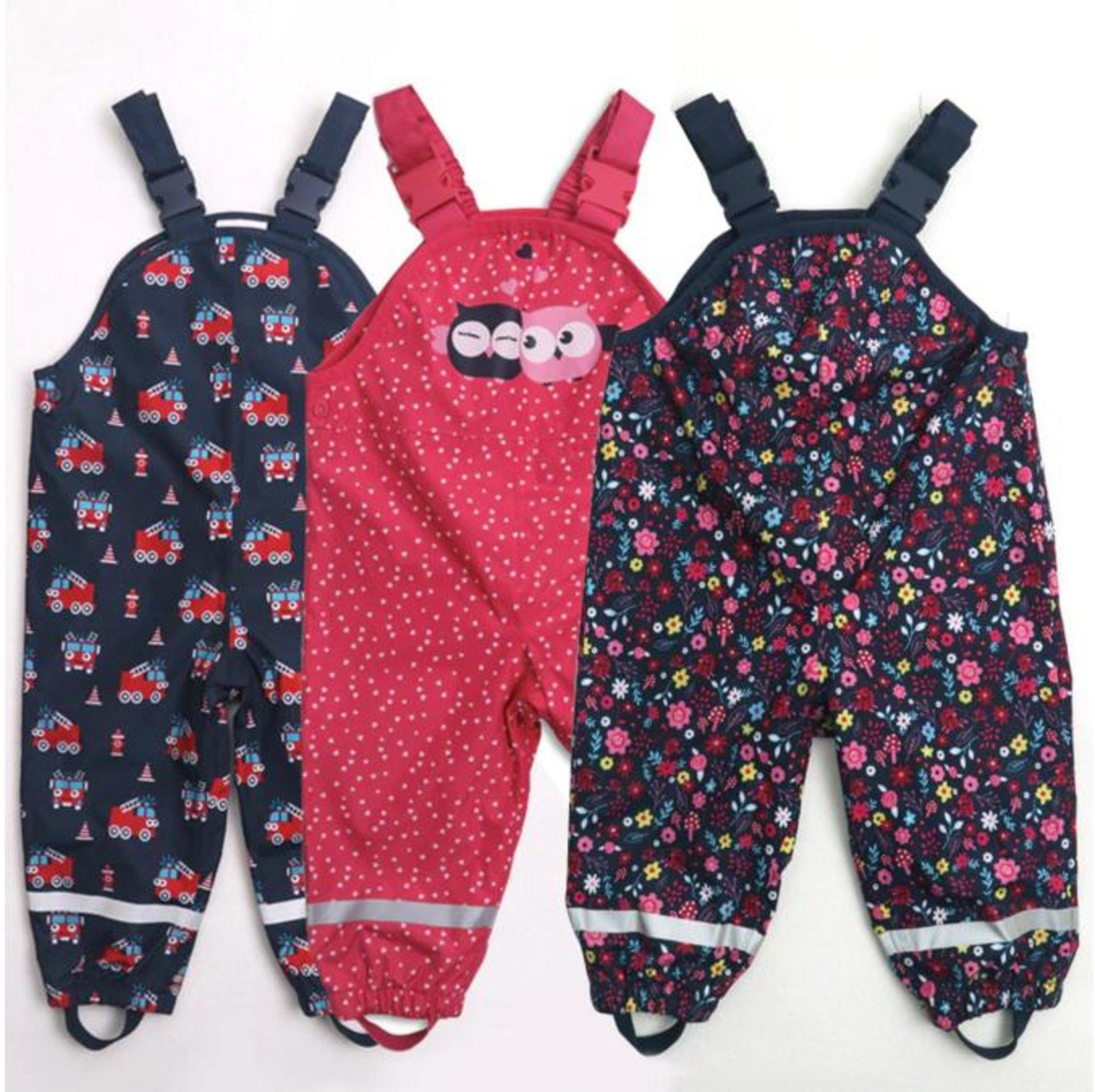 Kinder Regenanzug in verschiedenen Designs