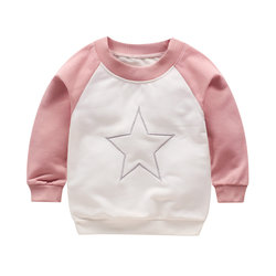 Kinder-Pullover in Weiß / Rosa | Star